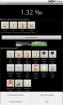 Hauptbildschirm mit Getränkeauswahl Android Alcomat Promille Rechner Alkomat