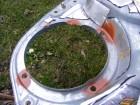 Seat Leon 1M Türdämmung: Löcher der Nieten am Aggregateträger versiegeln