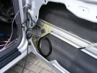 Seat Leon 1M Türdämmung Aggregateträger montieren, Aluring nicht vergessen!
