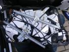 Seat Leon 1M Türdämmung Aggregateträger montieren, abgeschraubte Fensterheberführungsschienen