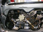 Seat Leon 1M Türdämmung Aggregateträger montieren