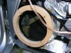 Seat Leon 1M Tiefmitteltönerhalter erster MPX-Ring probemontieren