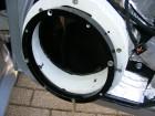Seat Leon 1M Türdämmung Aluring für den Tiefmitteltöner montiert.