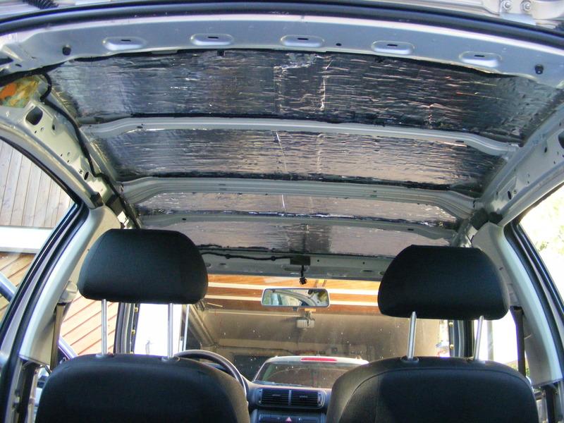 car hifi im seat leon 1m dachhimmel demontieren und dach d mmen blog d. Black Bedroom Furniture Sets. Home Design Ideas