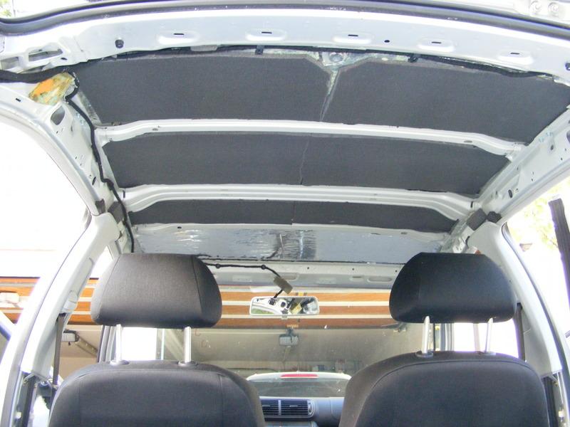 car hifi im seat leon 1m dachhimmel demontieren und dach. Black Bedroom Furniture Sets. Home Design Ideas