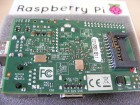 Raspberry Pi von Unten Bottom View Closeup