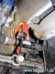 Seat Leon 1M, Golf 4, Audi A3: neuer Stabilisator eingebaut und Koppelstangen wieder festgeschraubt